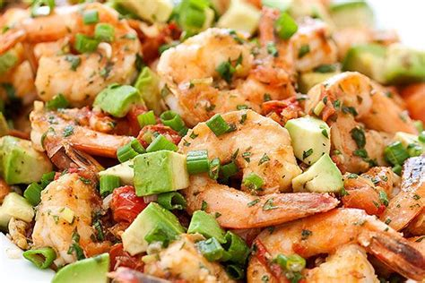 healthy dinner recipes seared shrimp seafood skillets cilantro and chipotle