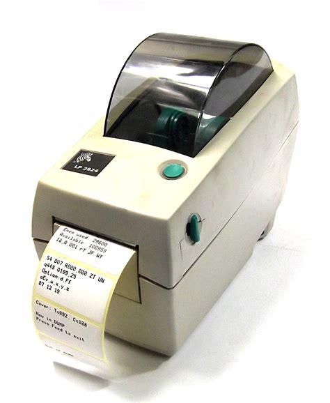label design software zebra lp 2824 zebra lp2824 thermal label printer no ac adapter 2824