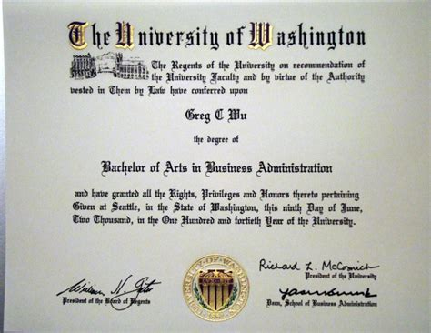 Of Washington Mba Requirements by International Business Uw International Business Degree