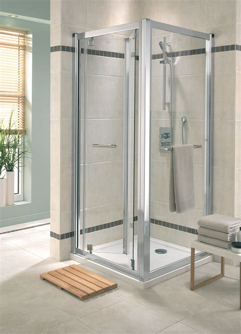Shower Doors 900mm Twyford Geo6 Bi Fold Shower Enclosure Door 900mm G65200cp