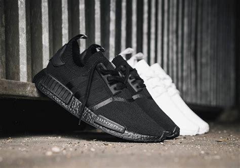 Diskon Adidas Nmd R1 Pk Japan Black White Premium Original Sepatu Ker adidas nmd r1 primeknit white and black