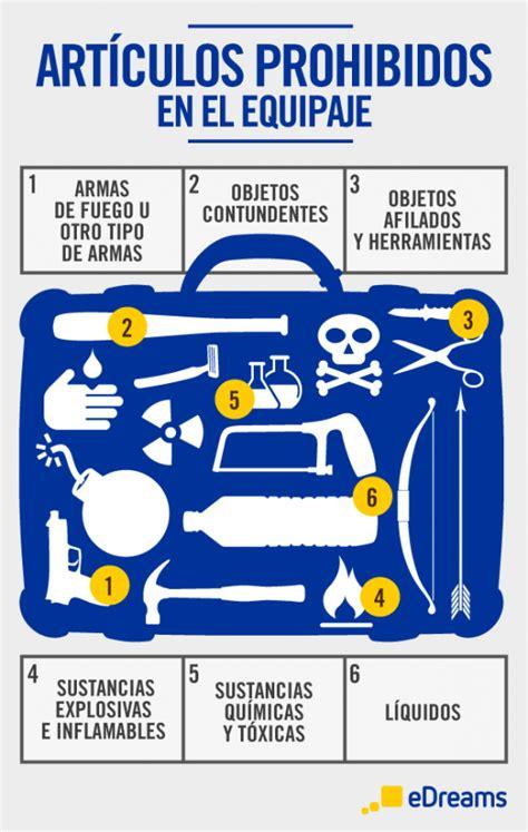 consejos para preparar el equipaje de mano
