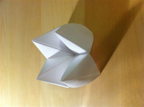 Make Paper Fortune Teller - how to make paper fortune tellers 日本語