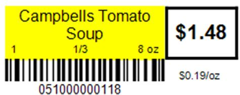 Grocery Store Shelf Labels by Tour Grocery Convenience Store Pos Storetender