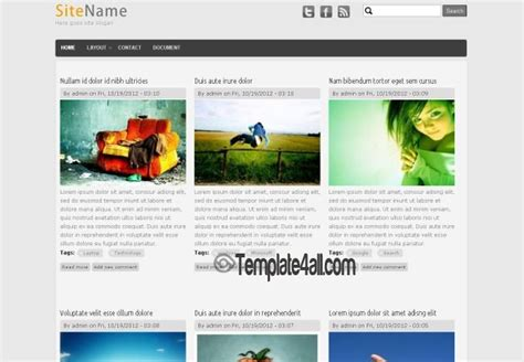 drupal themes journal free drupal 7 portfolio responsive theme template download