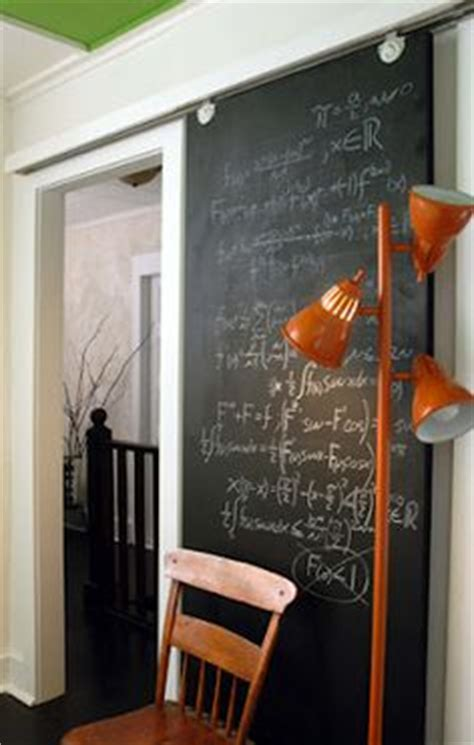 Chalkboard Sliding Closet Doors 1000 Images About Room Divider Ideas On Pinterest Sliding Barn Doors Sliding Doors And Barn
