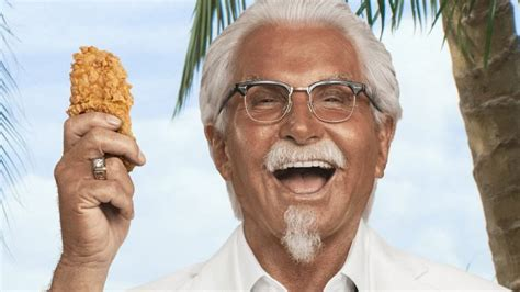 actors in kentucky fried chicken commercials george hamilton is the new colonel sanders if you can