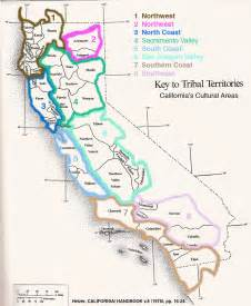 map of california tribes california americans