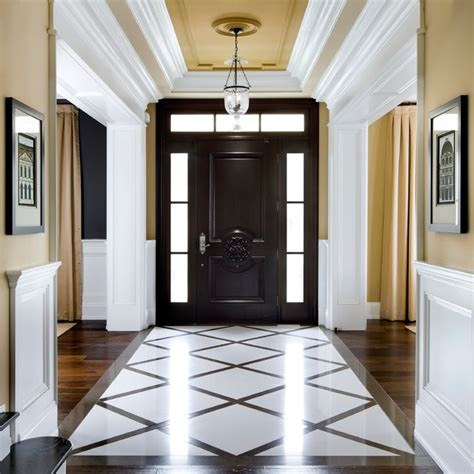 foyer quartz lockhart kylemore custom home traditional entry