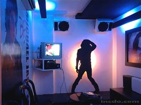 michael jackson themed bedroom micheal jackson theme ktv room king of pop mj pinterest