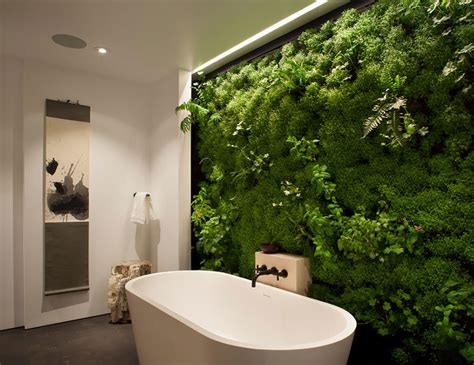 moss wall in bathroom bored panda