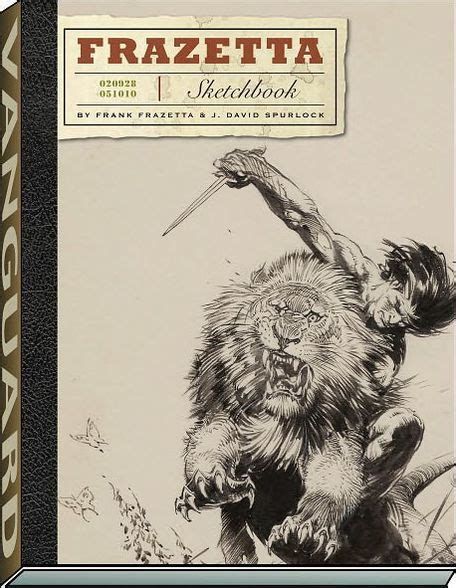 barnes and noble sketchbook the frazetta sketchbook by frank frazetta j david