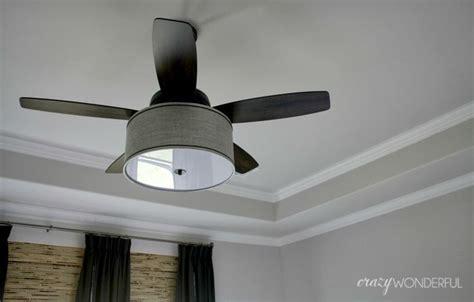 Ceiling Fan Light Shades Fabric by Best 25 Drum Shade Ideas On Diy Drum Shade