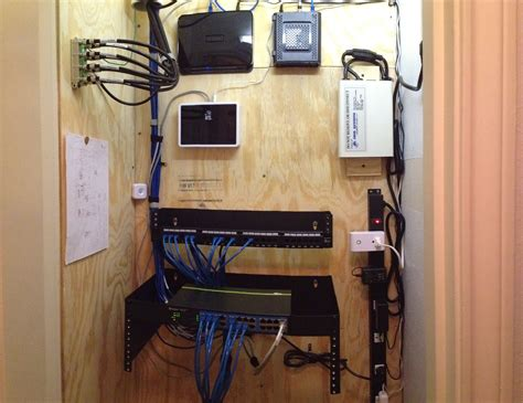 home network design ideas diy home network closet abraham farris