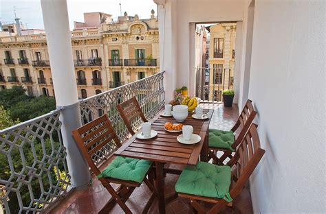barcelona appartments central apartment with terrace holiday apartments in