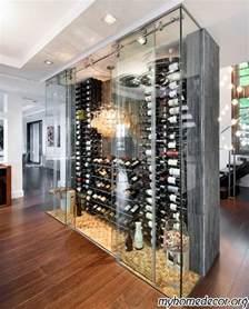 modern wine cellar design home