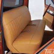 Bench Seat Upholstery 1969 Chevrolet C10 Seats