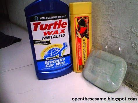 Applicator Pads Turtle Wax Busa Poles belajar nge coba obat poles turtle wax metallic