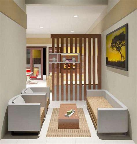 contoh desain ruang tamu minimalis ukuran  indah