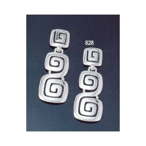 greek key motif greek jewelry shop 828 sterling silver ionic meander