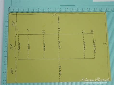 double sided step card template tutorials pinterest