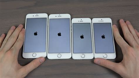 iphone se vs iphone 6s vs iphone 6 vs iphone 5s which is faster