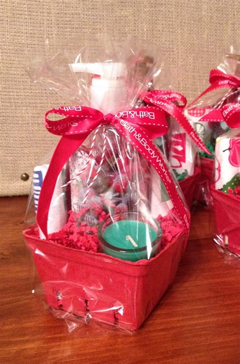 sohl design christmas mini gift baskets