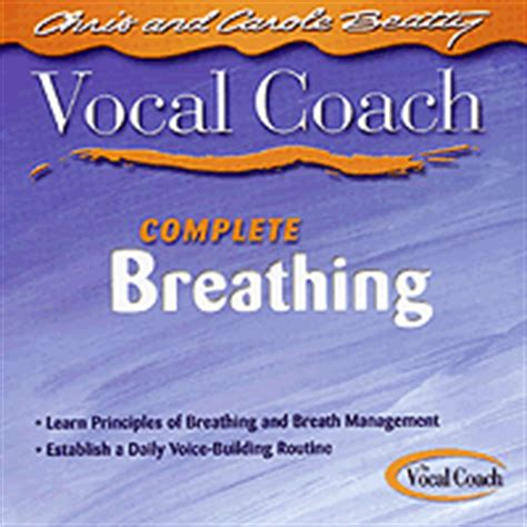 vocal couch carole beatty vocal coach biography dvds cds and