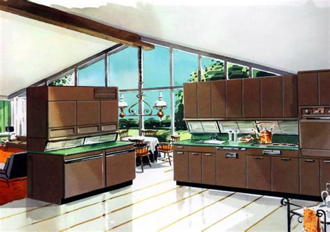 1950 Kitchen Design Kitchens From The 1950s Interior Decorating