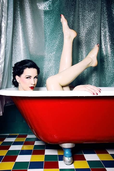 bathtub pinup bath tub pin up photograph by jane queen