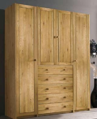 kleiderschrank rustikal schlafzimmer eiche