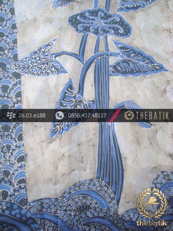 Batik Tulis Warna Alam Motif Daun jual kain batik tulis warna alam indigo motif daun talas