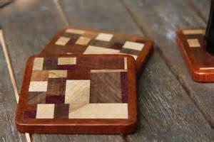 scrap wood coasters drink mats by alexharris