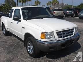 2002 Ford Ranger For Sale 2002 Ford Ranger Xlt For Sale In Florida