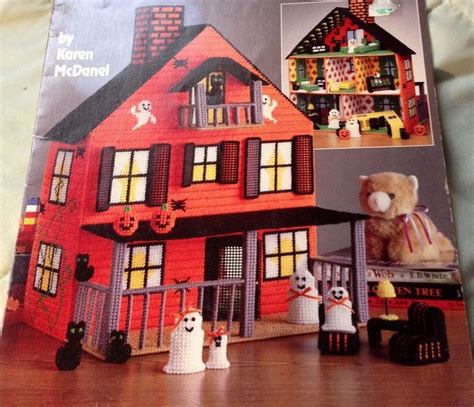 fashion doll house plastic canvas house pattern books 1000 images about plastic canvas doll