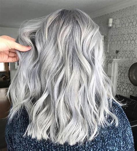 platinum gray ombre hairstyles pinterest positividy beauty pinterest hair