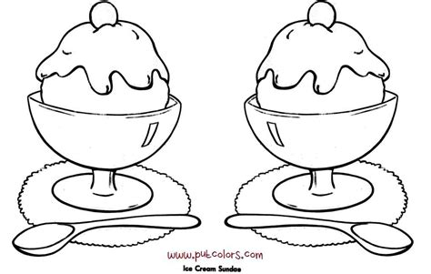 ice cream dish coloring page sundae dish coloring pages coloring pages