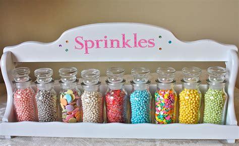 Sprinkle Jars Sprinkles Sprinkle Jars Spice Rack Pastel Sprinkles Cookie
