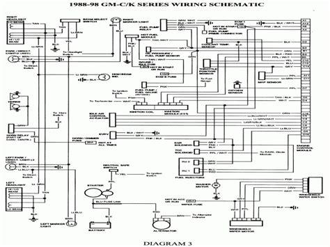 1985 chevy truck wiring diagram 1985 chevy silverado truck
