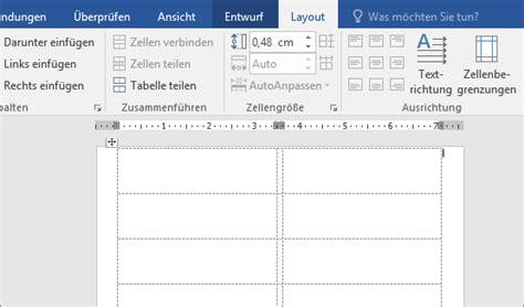 Etiketten Drucken In Word 2013 by Erstellen Und Drucken Etiketten Mit Der