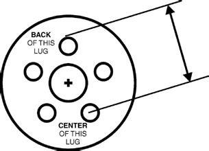 chevy wheel bolt pattern dimensions  hamb