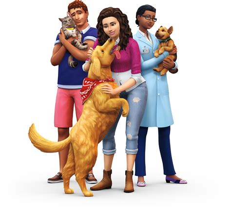 cats and dogs sims 4 the sims 4 cats dogs expansion official logo box renders simsvip