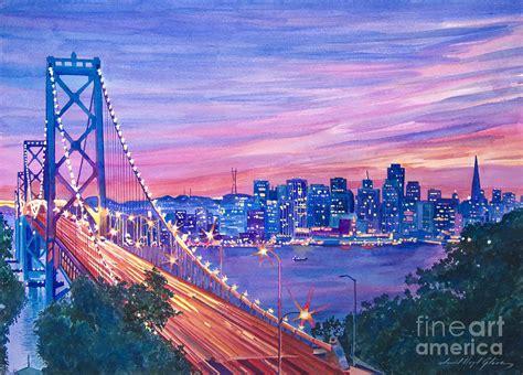 San Francisco Nights Painting By David Lloyd