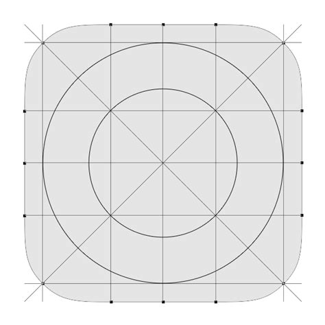 The Hunt For The Squircle Apply Pixels App Icon Template Illustrator