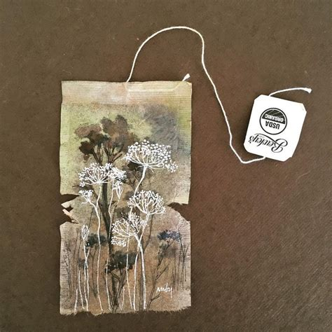 Paper Look With Tea Bags - 25 best ideas about tea bag on tea