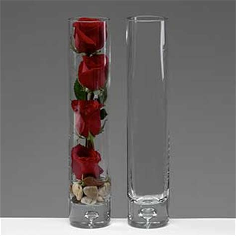 14 Inch Glass Cylinder Vase 14 Quot X 2 75 Quot Glass Cylinder Vase Floral Supply Syndicate