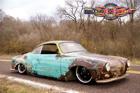 gas monkey porsche 1968 vw karmann ghia custom rat rod from gas monkey garage