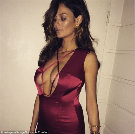 Nicoles Post Baby Bod by Trunfio Looks Adoringly At Baby Clark As She