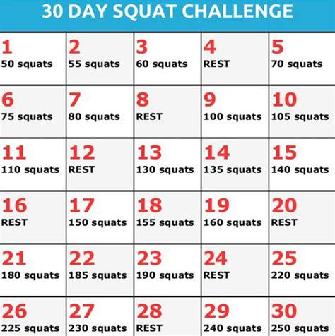 60 days squat challenge 30 days squats challenge fini les fesses flasques the