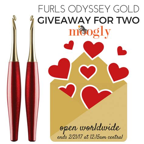 Gold Giveaway - furls odyssey gold giveaway for two moogly